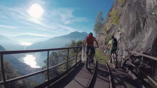 Alpencross andersrum - Vom Comer See zum Tegernsee - im Oktober