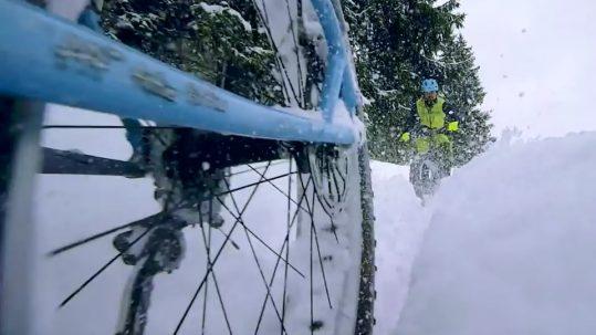 Heiß wie Schnee - Fatbike Winter-Fahrtechnik-Tutorial