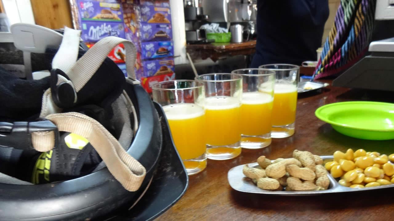 Cooler Mix: Après-Biken mit Poncha