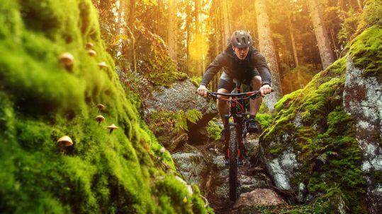 Dominik Prantl: Mountainbiken im Erzgebirge - Der Stoneman Miriquidi