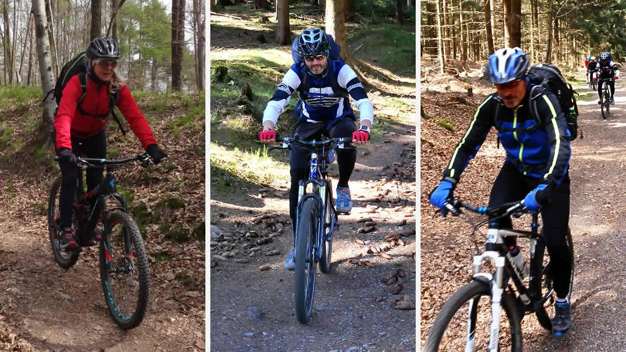 Rennsteig-Mountainbike-Bande Teil 1