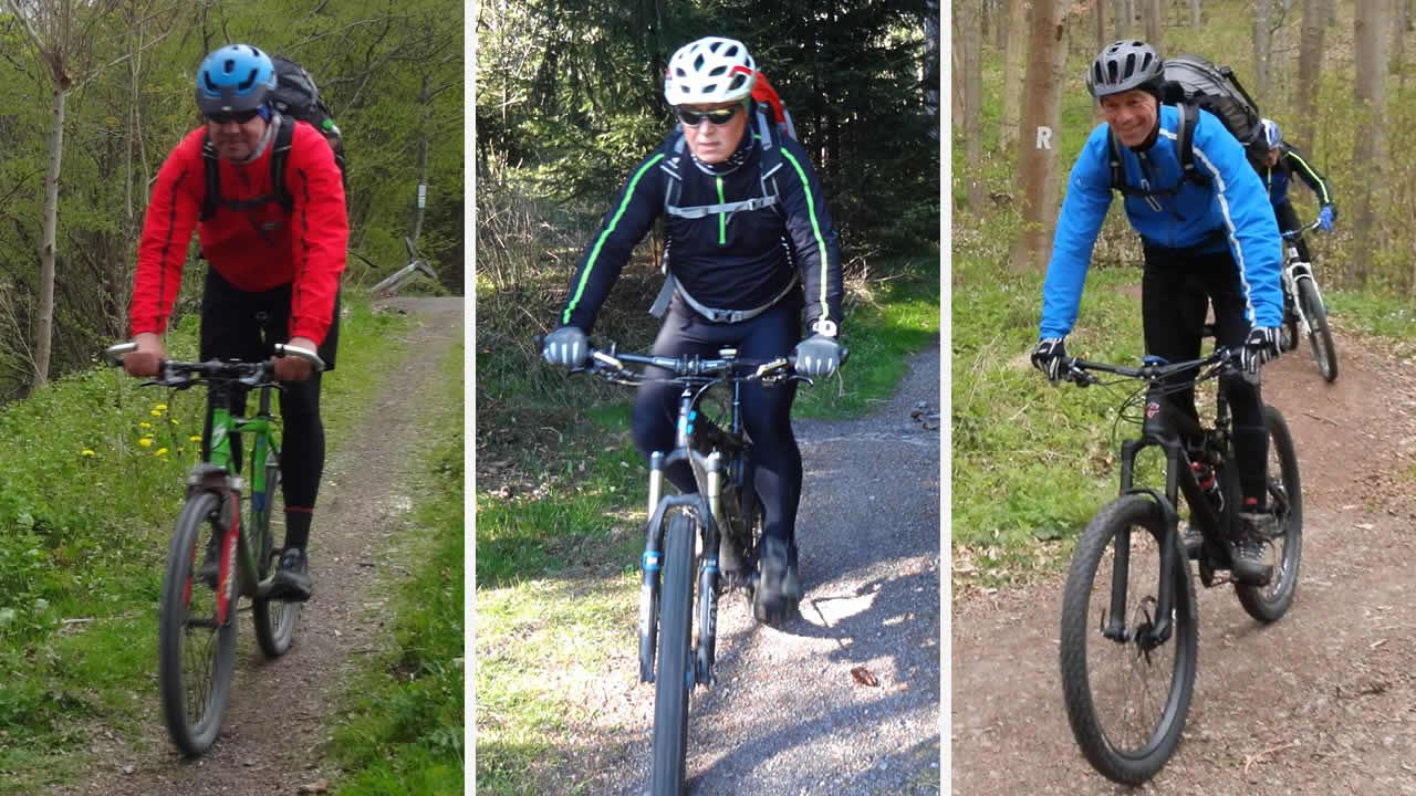 Rennsteig-Mountainbike-Bande Teil 2