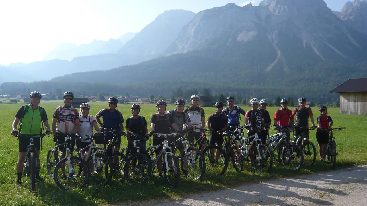 Alpenüberquerung +++ Start in Ehrwald