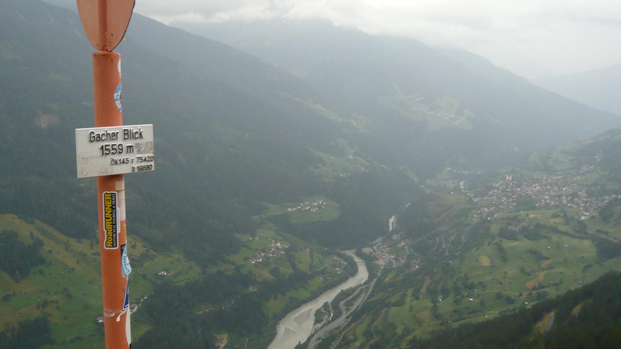 Alpencross +++ Gacher Blick