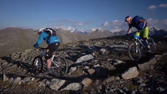 Danny MacAskill und Hans Rey biken Livigno