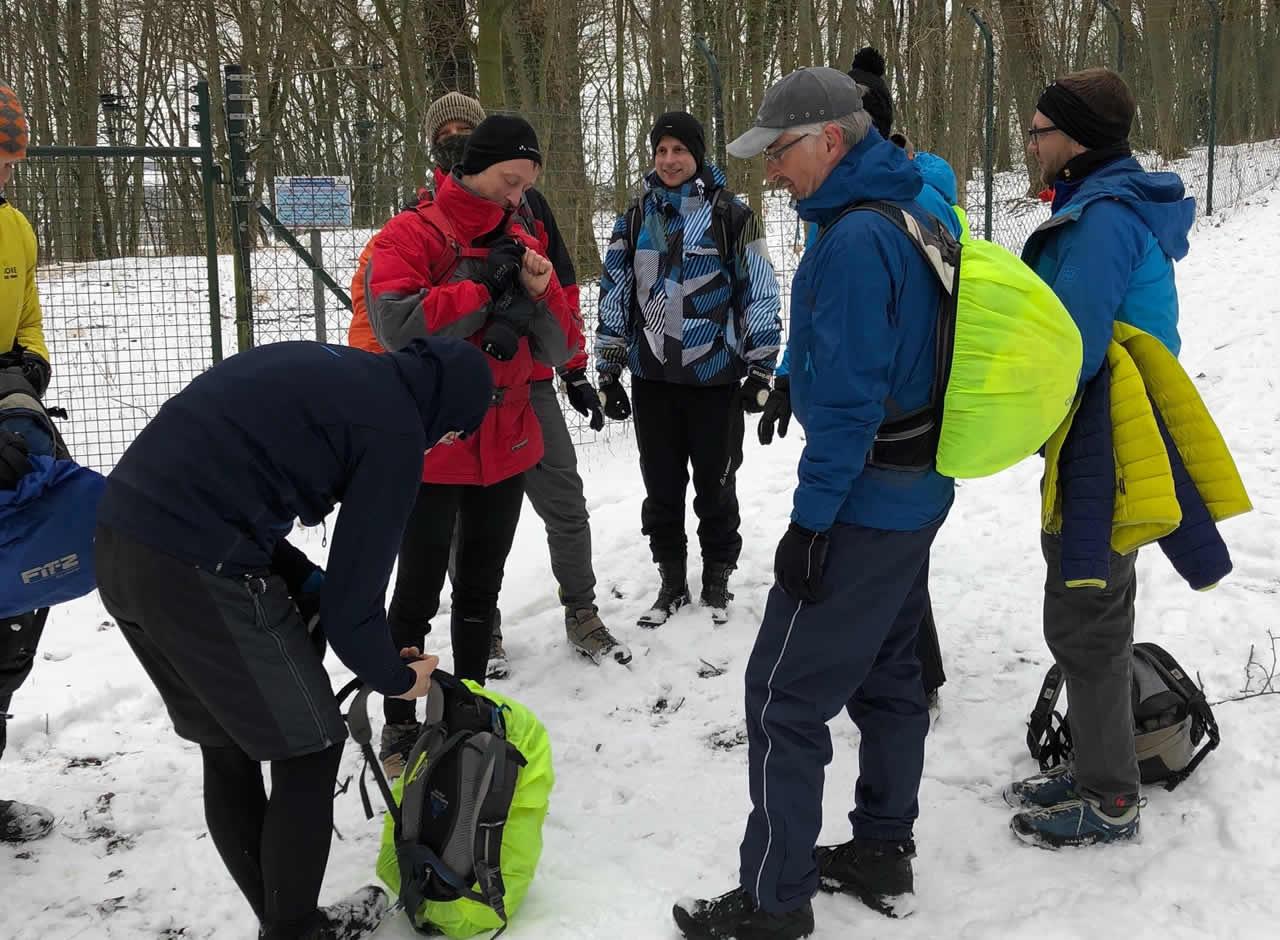 Outdoor Erste Hilfe Training - wahrlich keine Trockenübung