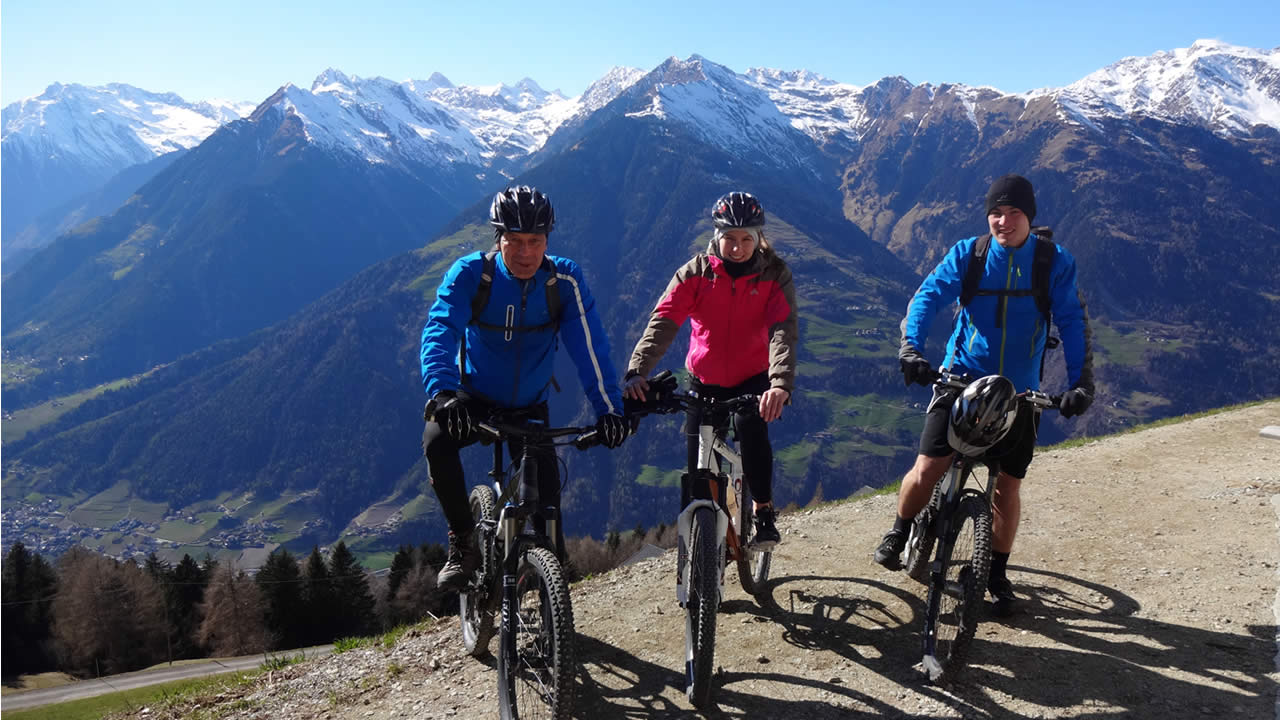 Start der Mountainbike-Saison in Südtirol