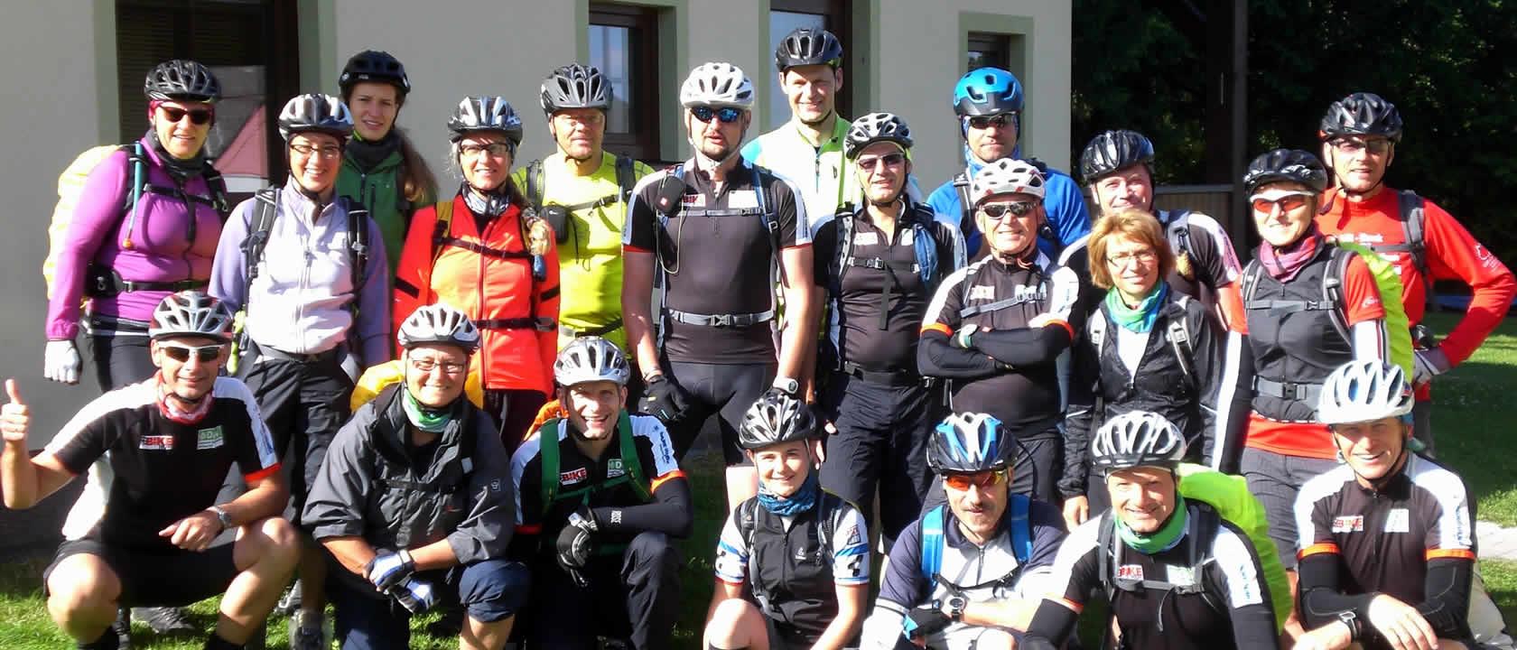 Bikespaß auf den Smrkem-Trails