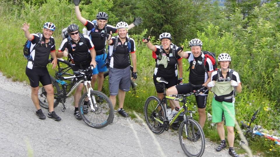 Mountainbike-Spaß in Slowenien