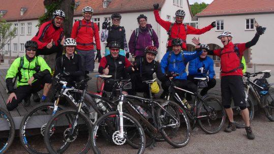 Spessart-MTB 2014: Team WAMMA