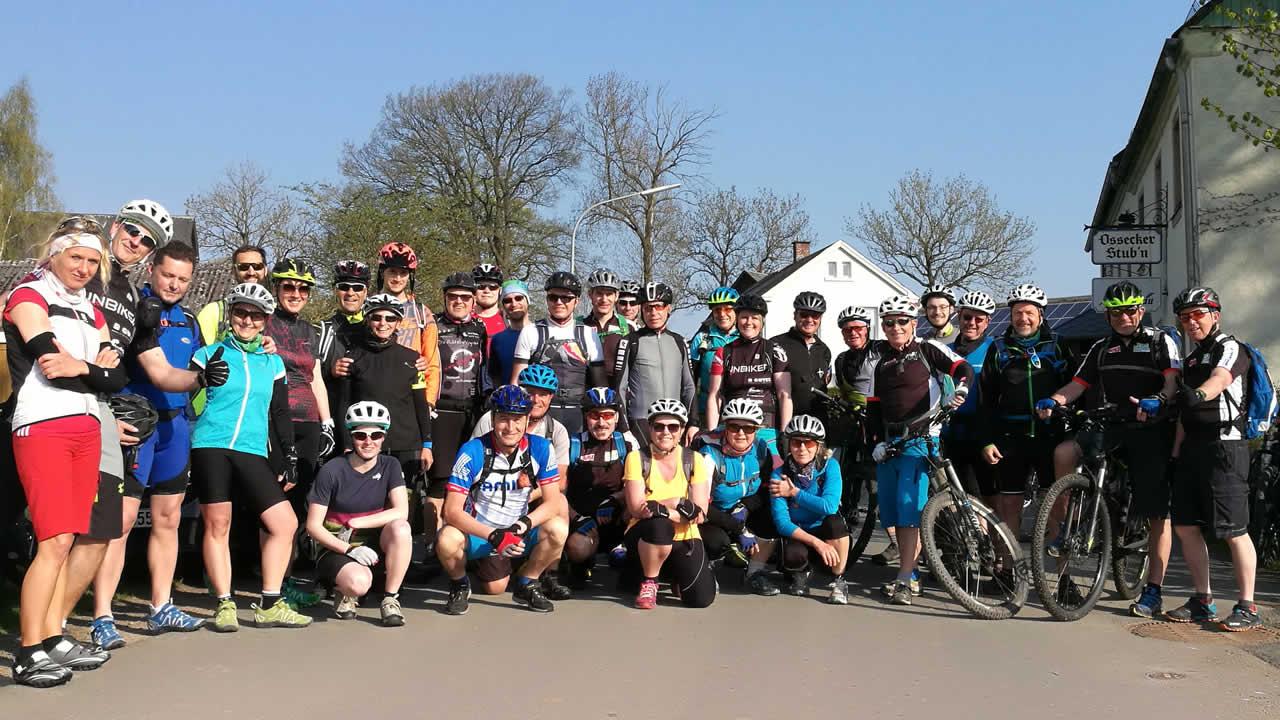 Anbiken mit MTB Guide&Tech - Start in die Mountainbike-Saison 2018