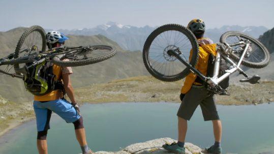 Vier Tage Mountainbiken im Dreiländereck