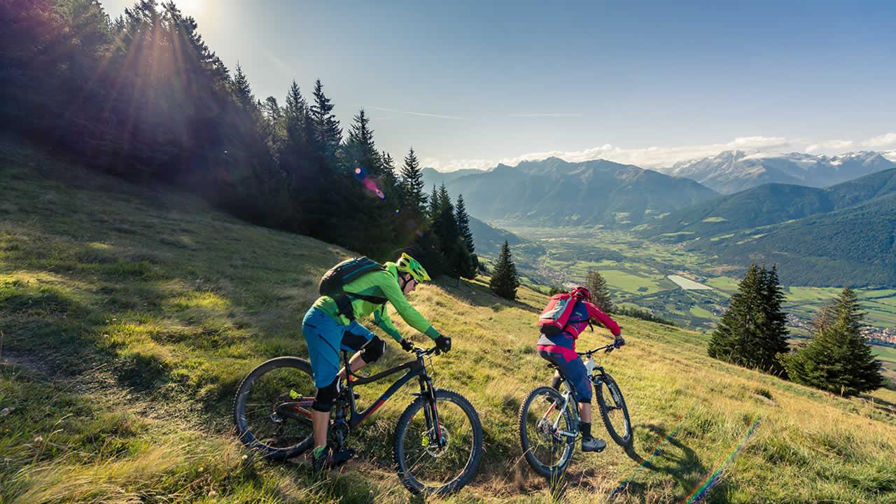 Bike-Eldorado Vinschgau - gepflegte Trails