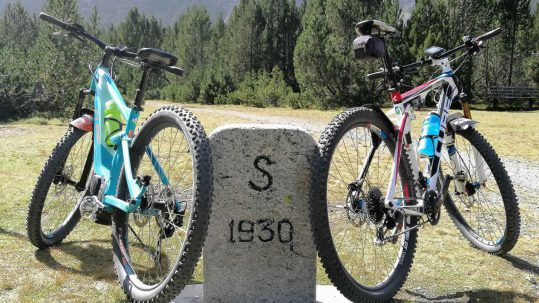 Ortler-Umrundung mit E-MTB und Bio-Bike