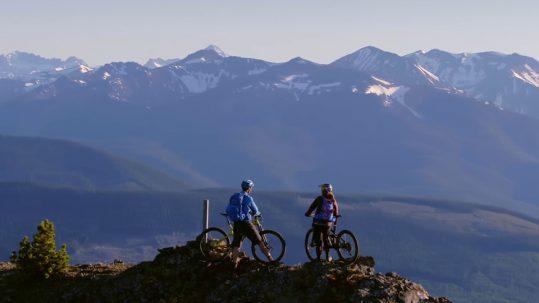 Und Action: Nachhaltiges Mountainbiken