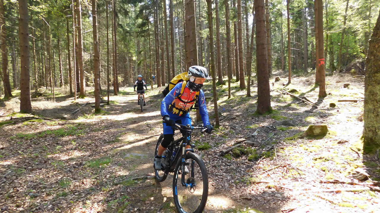 Mountainbike-Tour im Fichtelgebirge