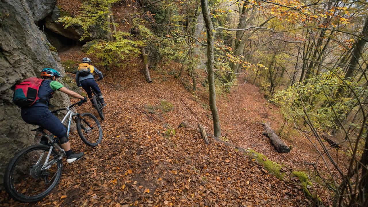 Mountainbike-Tour in der Fränkischen Schweiz