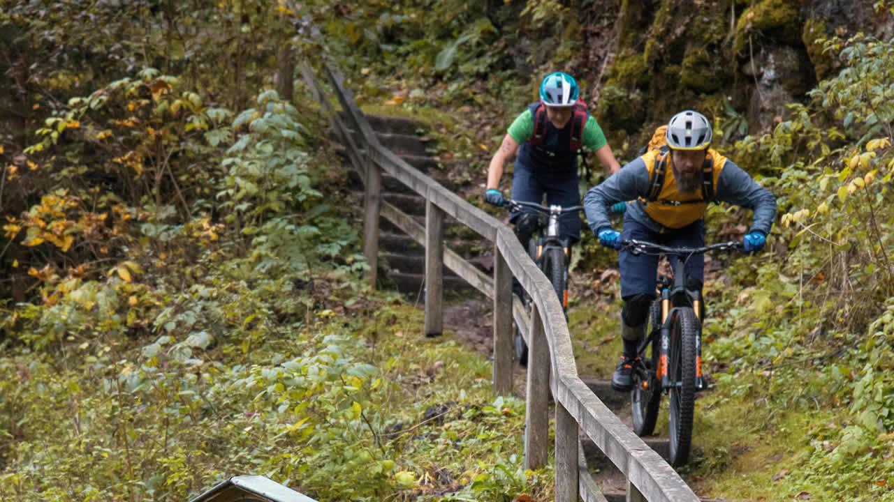 Fränkische Schweiz: MTB-Trail