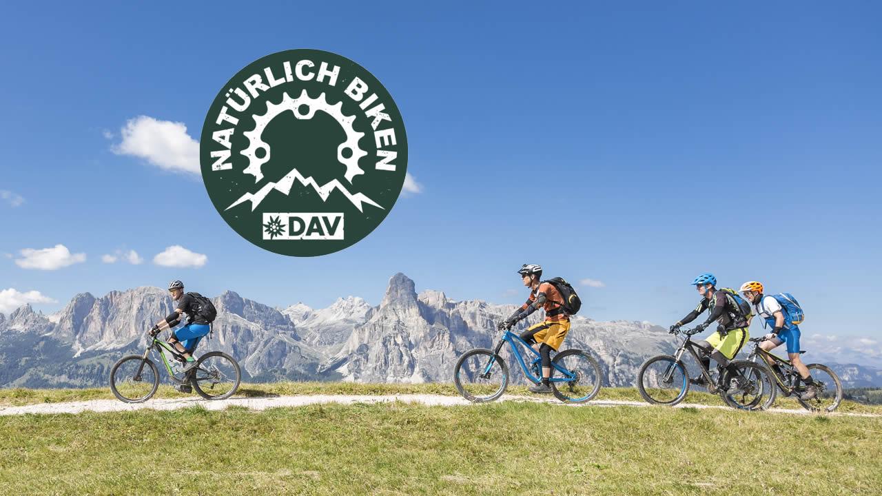 Natürlich Biken: Eine Initiative des DAV