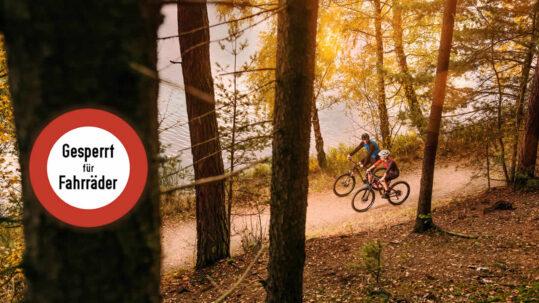Mountainbiken im Fichtelgebirge
