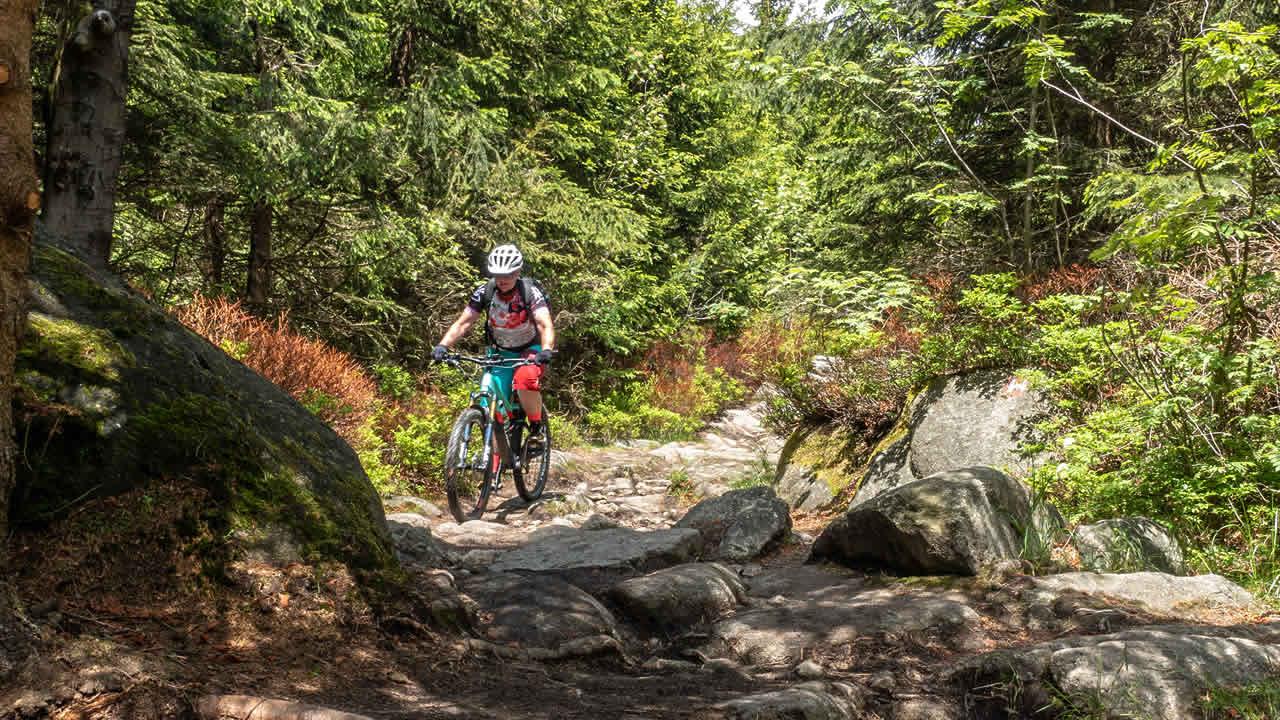 Trails im Hofer Land: knifflig und knackig