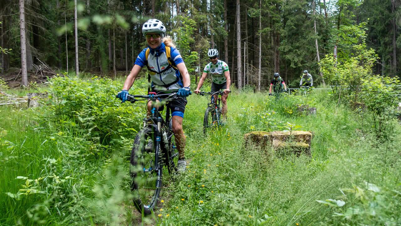 Trails im Hofer Land: locker und lässig
