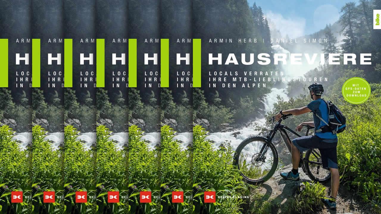 Buchtipp: Locals verraten ihre MTB-Lieblingstouren in den Alpen